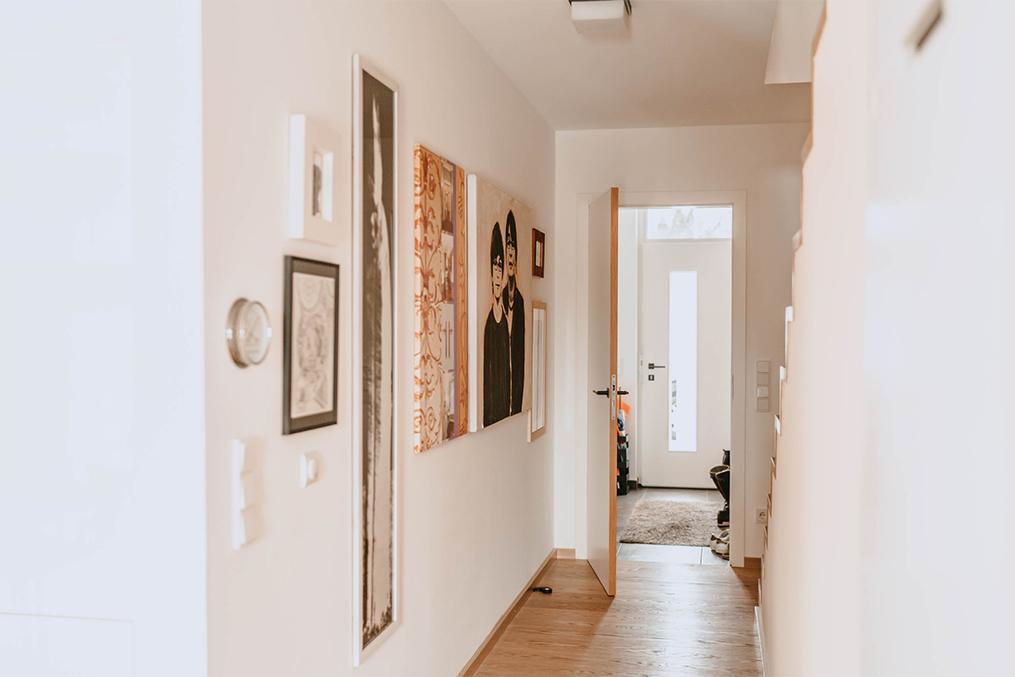 Paula Buchner - Innenarchitektur Holzhaus