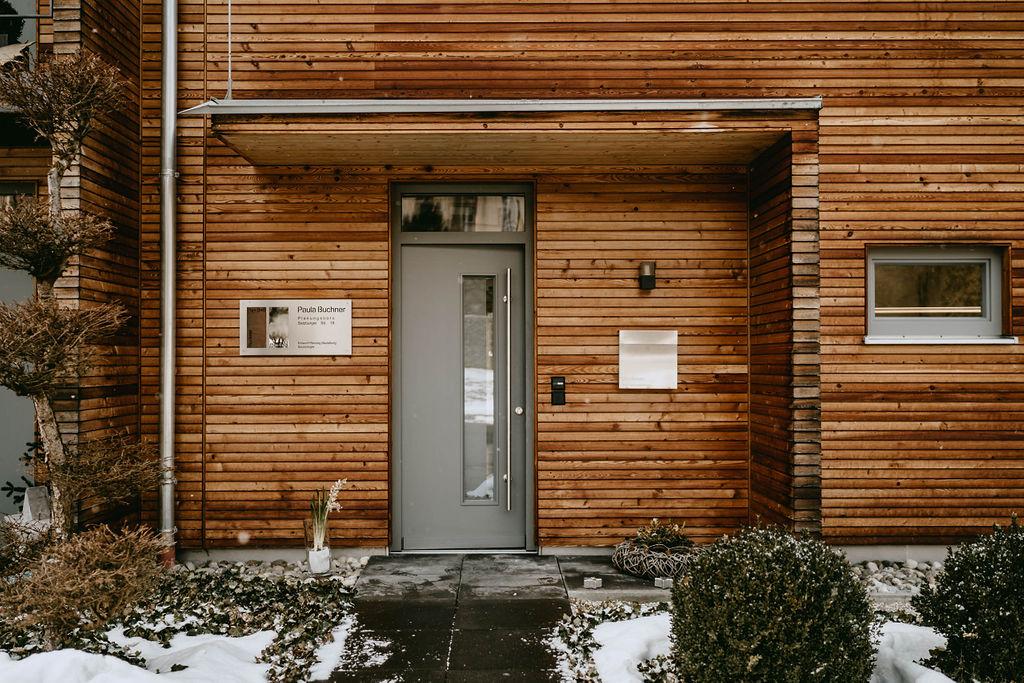 Paula Buchner - Innenarchitektur Holzhaus Wasserburg am Inn