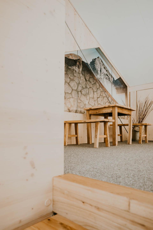 Projekt Paula Buchner - Innenarchitektur Touristeninformation Ruhpolding