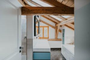 Paula Buchner - Sanierung Architektur Innenarchitektur Haus K Schnaitsee - Bad