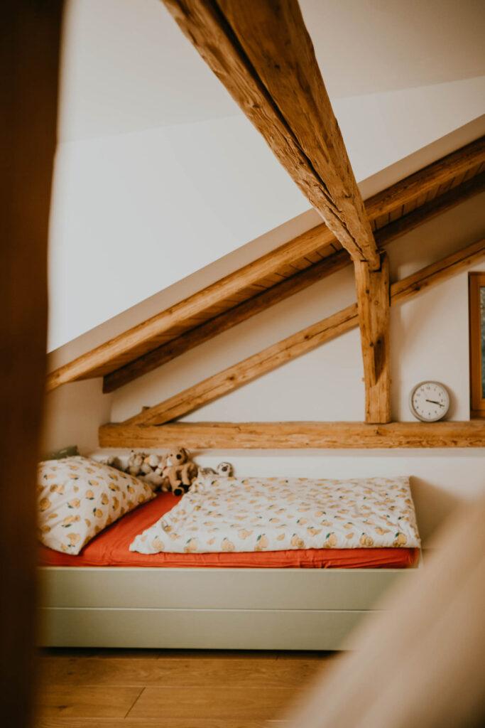 Paula Buchner - Sanierung Architektur Innenarchitektur Haus K Schnaitsee - Schlafräume