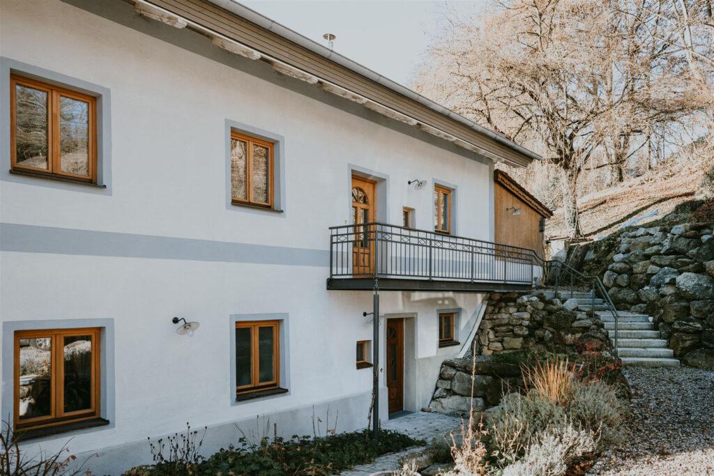 Paula Buchner - Sanierung Architektur Innenarchitektur Haus K Schnaitsee - Außenbereich