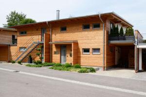 Projekt Paula Buchner - Planung und Realisierung Doppelhaus aus Holz
