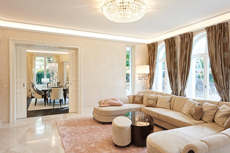 paula buchner innenarchitektur villa muenchen 3389 lounge